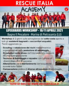 10-11 Aprile Rescue Italia Academy