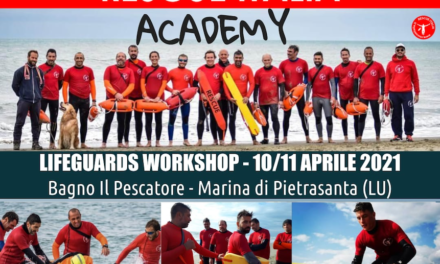 10-11 Aprile 2021 Rescue Italia Accademy