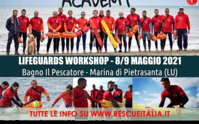 8-9 Maggio 2021 Rescue Italia Accademy